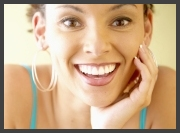 Someone that has benefitted from our cosmetic dentistry services in Texarkana, TX